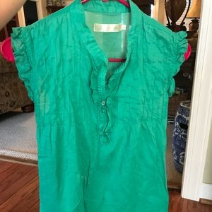 Tops - Green blouse